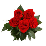 Bouquet of 5 roses