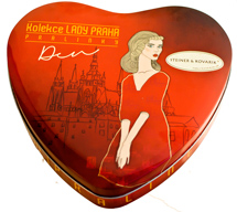 Day collection of pralines Lady Prague